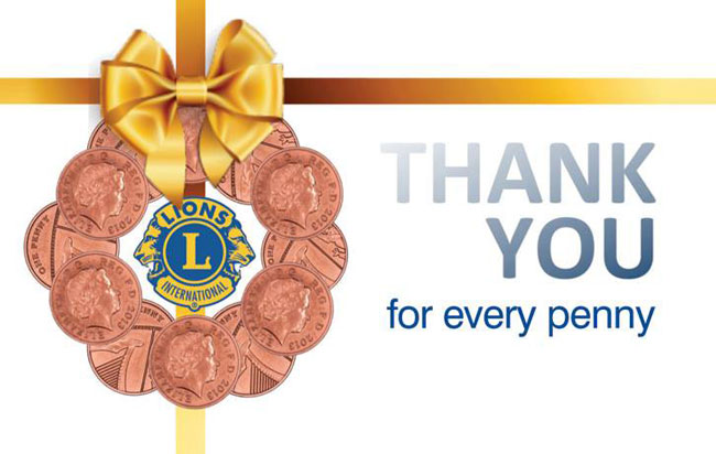 Thank you from Maltby (Rother Valley) Lions Club