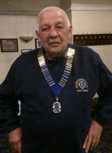 New President Dave, Maltby (Rother Valley) Lions Club