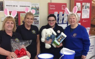 Celebrating Easter and raising some money too in Dinnington