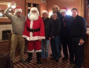 Santa with Maltby (Rother Valley) Lions