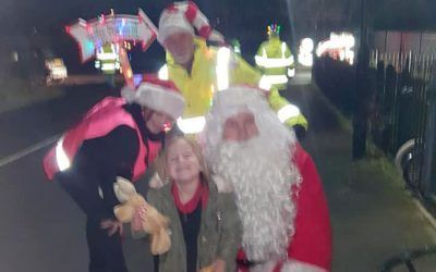 Santa and his team are keeping very busy!