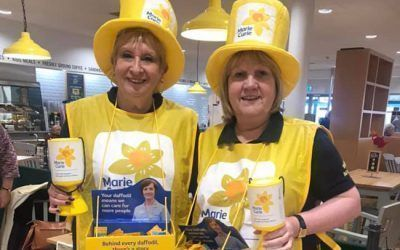 Maltby Lions support Marie Curie cancer charity