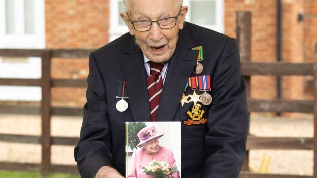 Happy 100th Birthday Captain Tom Moore
