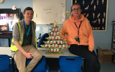 Maltby Lions Advent Trees fundraising for Christmas 2020
