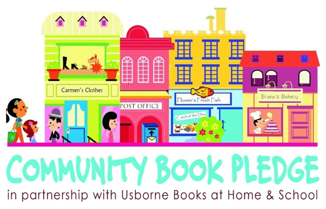 community book pledge logo