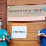 MRVL deliver 100 Message in a Bottle's to Rotherham Hospital