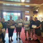 New members welcomed to Maltby (Rother Valley) Lions Club